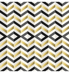 Vintage hipster rhombus background in gold vector