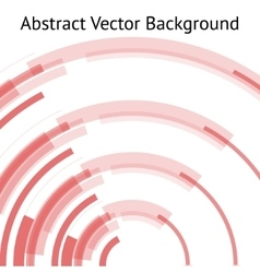 red abstract arch vector image vector image