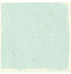 Whimsical grunge scrapbook background vector image vector image