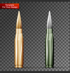 Bullets on transparent background vector