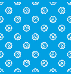 Camera aperture pattern seamless blue vector