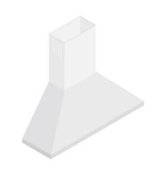 cooker hood isometric vector image
