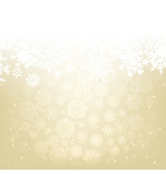 Elegant christmas background EPS 8 vector image