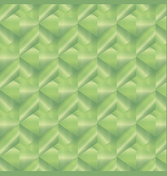 Geometric pattern with green rectangles vector