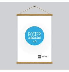 Poster flag vector