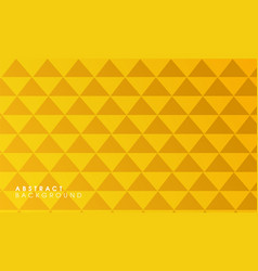 yellow abstract geometrical background vector image