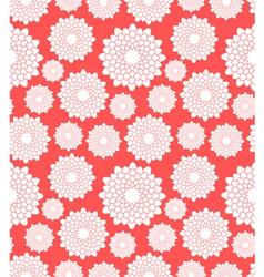 Floral pattern Chrysanthemum vector image