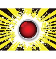 grunge icon vector image