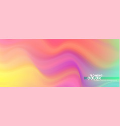 Abstract smoothly pattern colorful transitions of vector