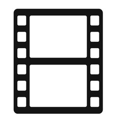 Animation film icon simple style vector