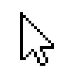 Arrow sign icon Next button vector image