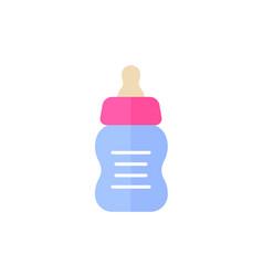 babottle icon on white flat vector image