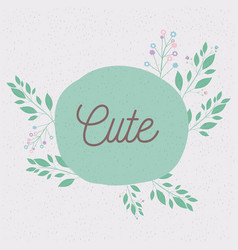 colorful background of text with decorative vector image