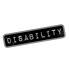 disability rubber stamp vector image