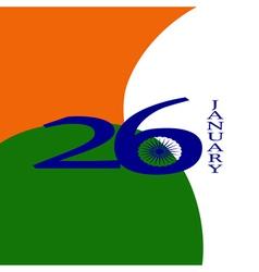 Elegant Indian flag theme background of Happy vector