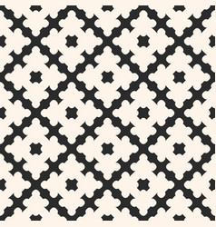 Geometric ornament abstract seamless pattern vector
