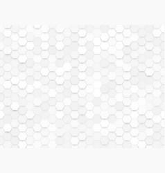 Hexagonal design background vector