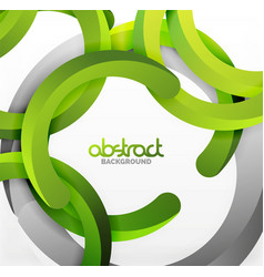 modern 3d geometrical style background arch vector image