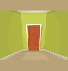 Mystery room vector