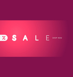 sale poster bright abstract background of vector image