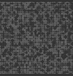 seamless dark black background with polka dots vector image