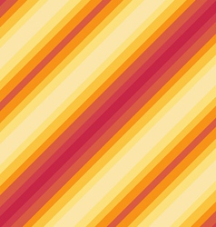 Seamless diagonal pattern red orange colours vector