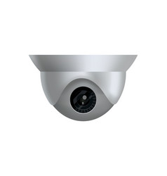 Security camera decorative surveillance camera vector