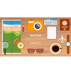 Travel Planning Concept vector