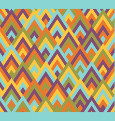 seamless pattern rhombus style vector image vector image