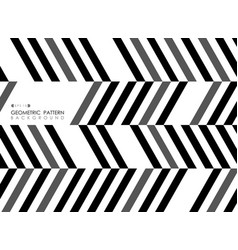 Abstract of stripe line black gray white pattern vector