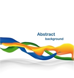 Abstract wave backdrop vector