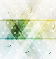 Background with abstract square composition vector