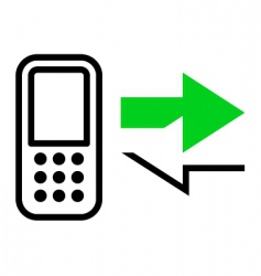 Callback icon vector