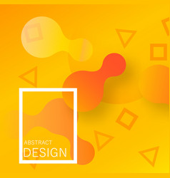 colorful geometric wallpaper vector image