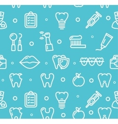 Dental Tooth Clinic Background Pattern vector