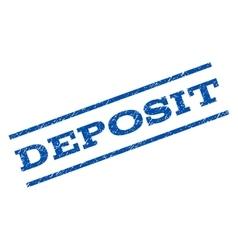 Deposit Watermark Stamp vector