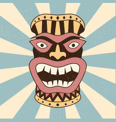 Ethnic mask vector
