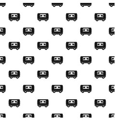 Food trailer pattern vector
