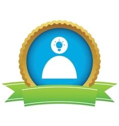 Idea certificate icon 2 vector