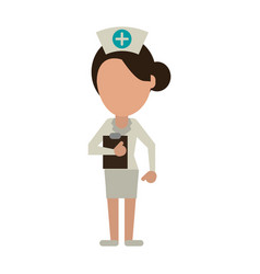 medical doctor profession help vector image