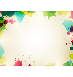 Multicolored Splash Background vector