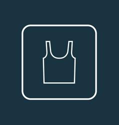 underwear outline symbol premium quality isolated vector image