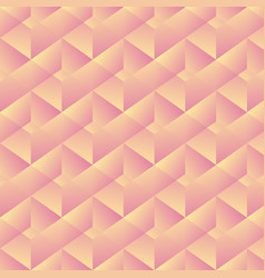 geometric pattern with pink rectangles vector image vector image