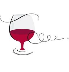 wine1 vector image vector image
