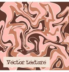 Beige marble texture Liquid vector image