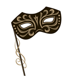 Carnival mask image vector