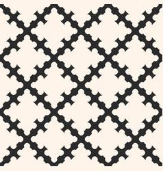 Diagonal mesh geometric ornament shapes vector