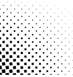 Monochrome square pattern - abstract background vector