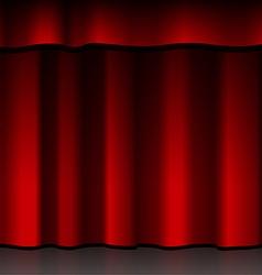 Red scenes vector