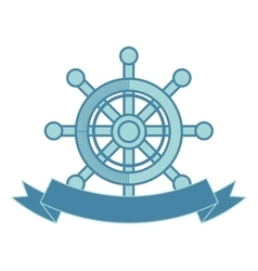 Ship timon maritime frame vector
